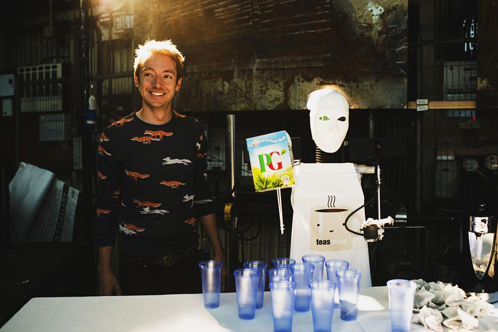 TEASMATE with artist Jack Ratcliffe